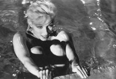 Lawrence Schiller (1936-) - Marilyn Monroe, (Edge of Pool), 'Something's got to give', 1962