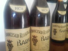 1978 Barolo Cannubi e Brunate Francesco Rinaldi