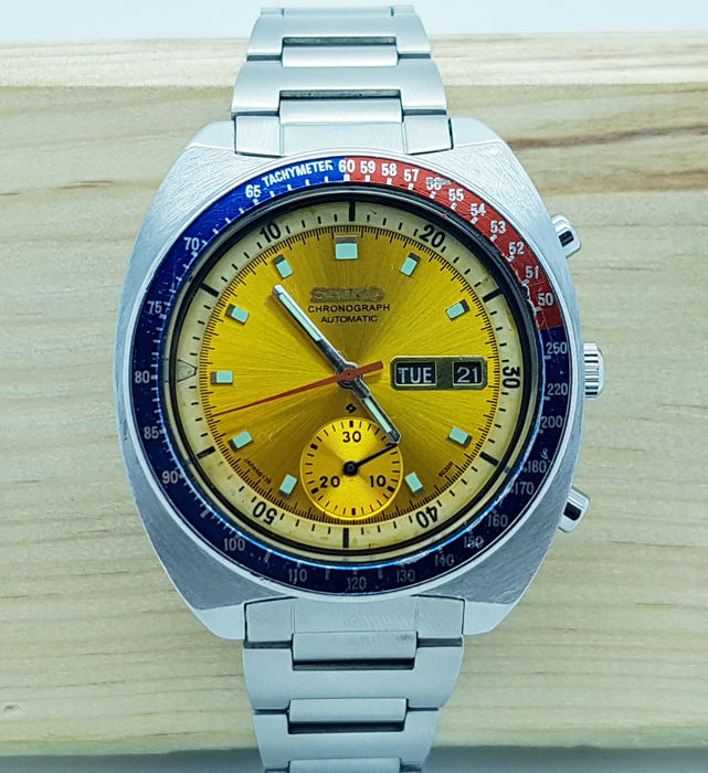 Seiko - SEIKO PEPSI POGUE CHRONOGRAPH - 6139-6002 - Men - 1970-1979