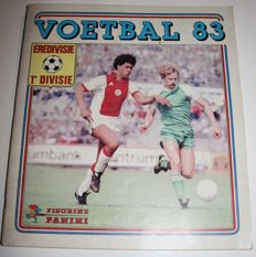 Panini - Voetbal 83 - Dutch eredivisie and first division - Complete album