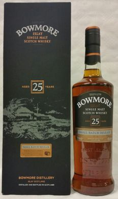 Bowmore 25 years old - Small Batch Release