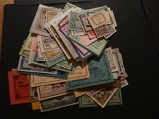 Germany - 1916/21 Collection emergency money (110 different ones) with much better material