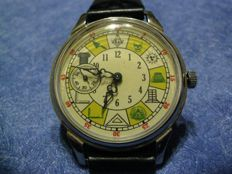 Molnija Masonic mariage watch  from 1969