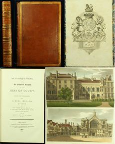 Samuel Ireland - Picturesque Views, with An Historical Account, of the Inns of Court in London and Westminster - 1800