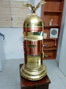 Brasilia Belle Epoque coffee machine - 1 group - vintage - gorgeous old lady of Italy
