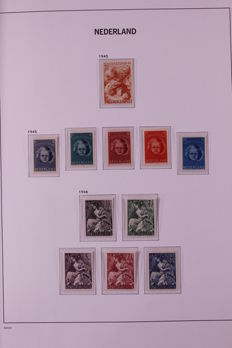 The Netherlands 1923/1969 - Collection in 2 preprint albums