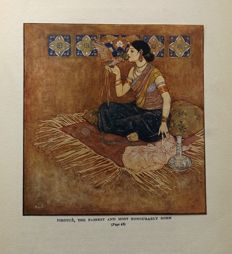 Edmund Dulac; Laurence Houseman (retold) - Stories from the Arabian Nights - ca. 1920