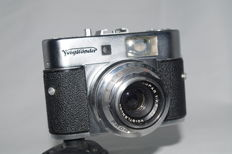 Voigtländer VITO BR - Rangefinder - particularly rare - with Color Skopar 2.8/50mm