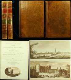 Samuel Ireland - A Picturesque Tour through Holland, Brabant, and part of France; Made in the Autumn of 1789 - 2 volumes - 1790