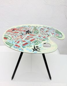 Lucien De Roeck - 'Palette' table, designed for the World Expo