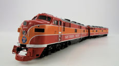 Challengers Import H0 - 2197.1 - Messing Diesellocomotief Southern Pacific EMD E7A  & E7B