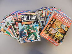 Marvel Comics - Sgt. Fury and His Howling Commandos #101 to 167 - 68x sc - (1972-1981)
