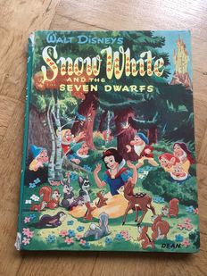 Snow White and the Seven Dwarfs - hc - 1st print (1954)