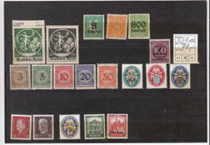 Germany - circa 1920-1955 patch MH with hinge on plug-in cards