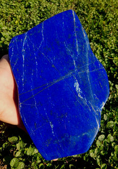 Hand-made, polished Top Quality Lapis Lazuli tumble - 23 x 14 x 3.9 cm - 2570 gm