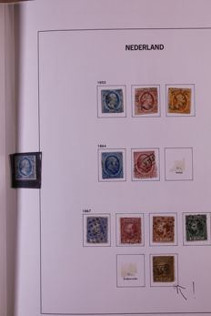 The Netherlands 1852/1967 - Collection in old Davo LX preprint album