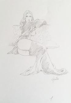 Frollo, Leone - original drawing