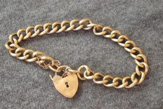 Early 20th century 9ct rose gold bracelet