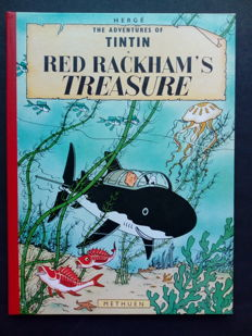 Tintin T12 - Red Rackham's Treasure - C - Seconde édition en anglais - (1965)