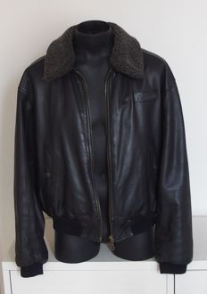 Australian - Leather aviator jacket