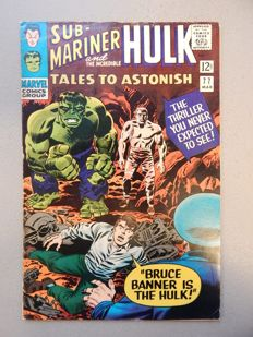 Marvel Comics - Tales of Astonish #77 - with Submariner stories - 1x sc - (1966)