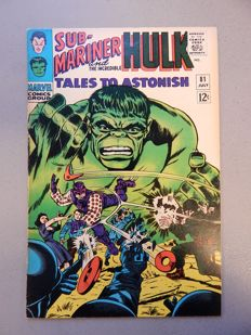 Marvel Comics - Tales of Astonish #81 - with 1st appearance of Boomerang  - 1x sc - (1966)