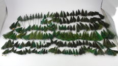 Scenery H0 - Tree package with +- 215 trees, different types and sizes for model railway course