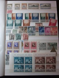 Vatican City 1933-2006 - Collection of stamps, souvenir sheets, mini-sheets, booklets and variable value stamps in an album.