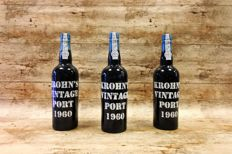 1960 Vintage Port Krohn - 3 Bottles