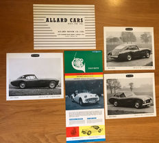 5 Allard and Triumph Cars  Brochures