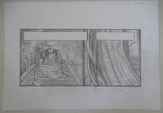 Bosschaert, Jan - Original pencil drawing - Jaguar