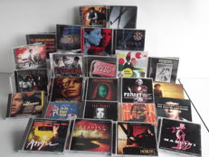 Collection of 25 Original Soundtrack CD's - Hellraiser / The Social Network / Hostel / Fight Club / X-Files / Pink Panther / Hable con ella / Lawlless and more...