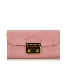 Miu Miu - Leather Long Wallet