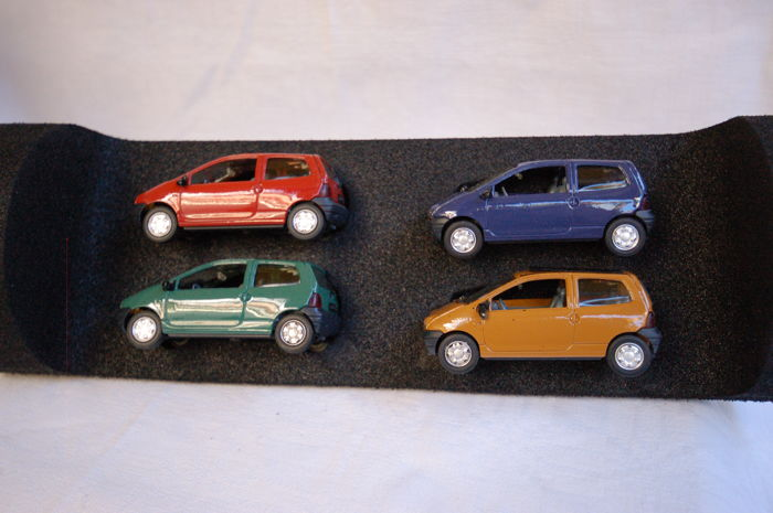 Solido / Vitesse - Scale 1/43 - Lot of 7 French tourism cars