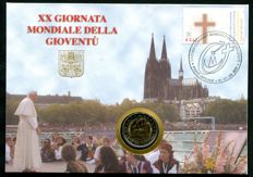 Vatican City - €2 coin 2005 '20th World Youth Day' in the original folder