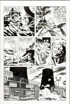 Steve Rude - Original Art Page - X-Men: Children of the Atom #1 - Page 15 - (1999)