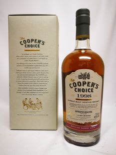 Springbank 18 1998/2016 (46%, The Cooper's Choice, refill sherry, cask #116, 1 of 300 bottles)