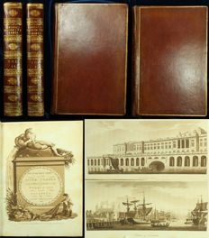 Samuel Ireland - Picturesque Views on the River Thames - 2 volumes - 1792