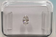 Cts. 0.25, Marquise Brilliant Shape, E/VS1, IGI