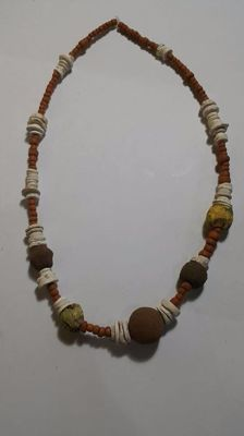 Majapahit Beads Necklace - 180 x 11 x 20 mm