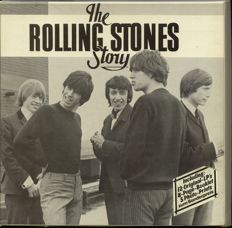 The Rolling Stones Story 12 record German box set - Albums in hardly played condition
