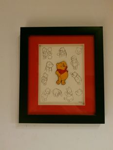 Disney, Walt - Framed limited edition Pin - Winnie the Pooh Pin Collection