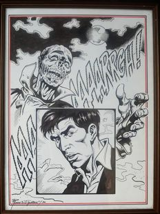 "Romanini, Giovanni - original illustration for ""Dylan Dog"" (1992)"