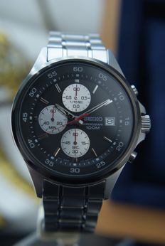 Seiko - Chronograph Date  watch in Mint condition. - 男士 - 2011至今