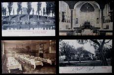 Belgium-beautiful collection of 200x excellent postcards  cities, towns and villages-period:1900/1940