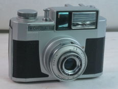 BENCINI KOROLL II, 4.5x3cm viewfinder camera, made in Italy, ca. 1959. Exc+ +