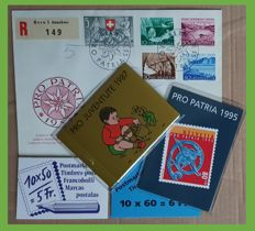 Switzerland 1987/2012 - 26 Booklets and 3 Pro Patria letters 1952-54 and other letters