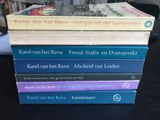 Karel van het Reve; Lot with 7 of his publications - 1972/1991