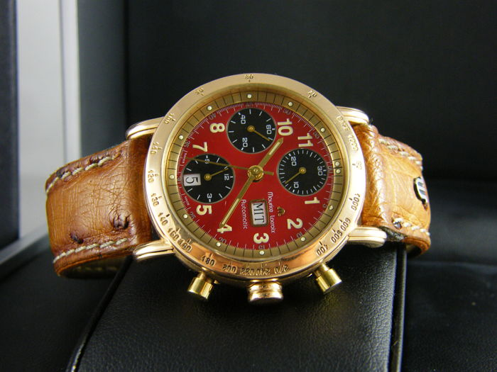 Maurice Lacroix - Croneo Red Dial - Heren - 1990-1999