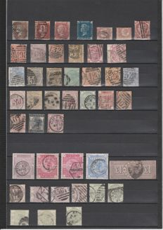 Great Britain 1840/1900 - Collection on stock cards